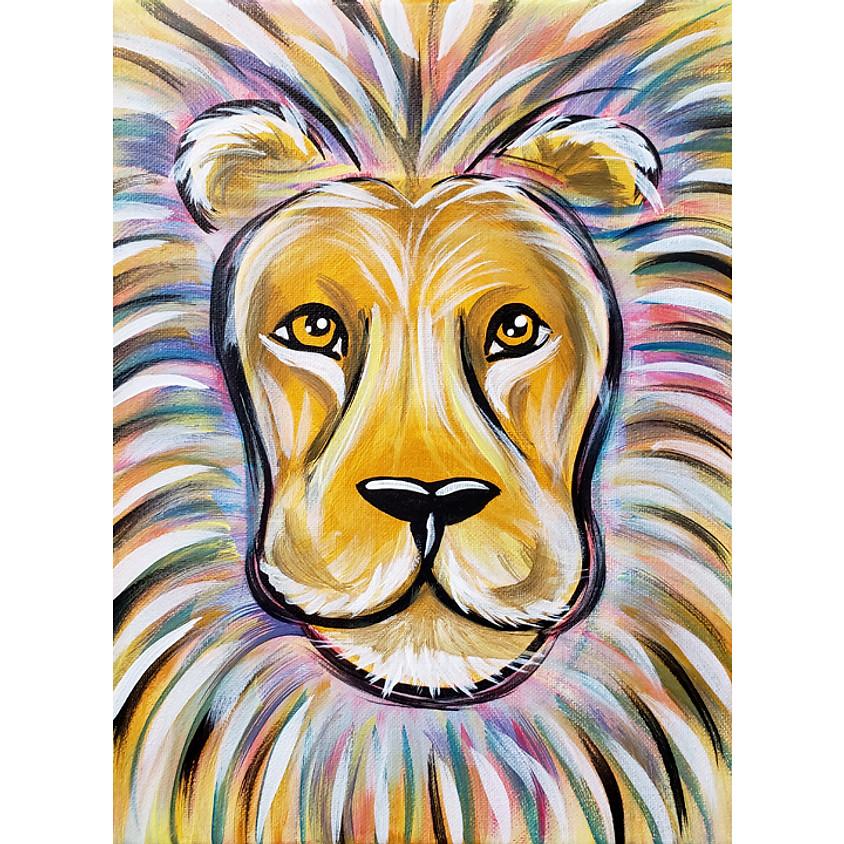 Color Lion - Little Artists Live or In-Studio