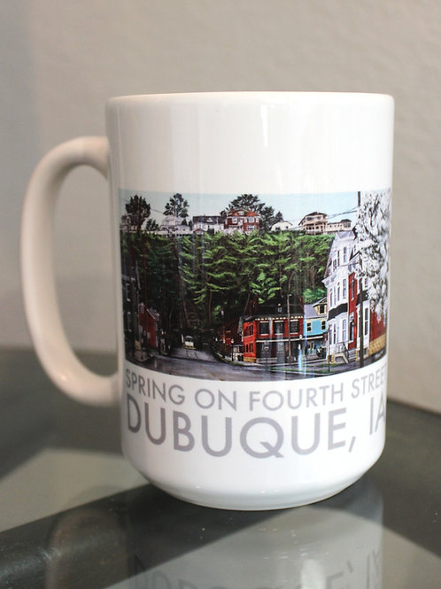 Spring on Fourth Street - 14oz Mug