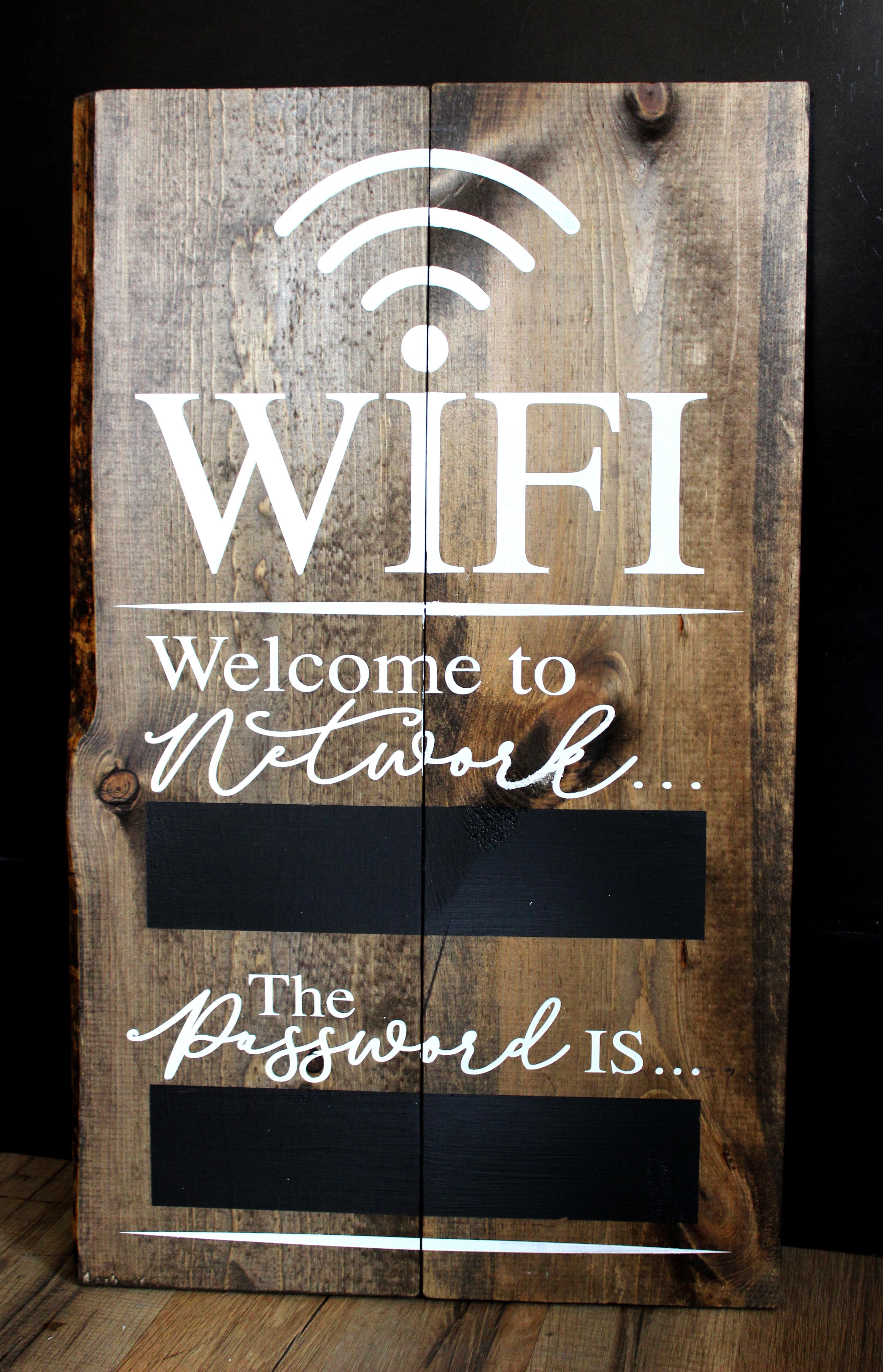 WIFI _ Chalkboard