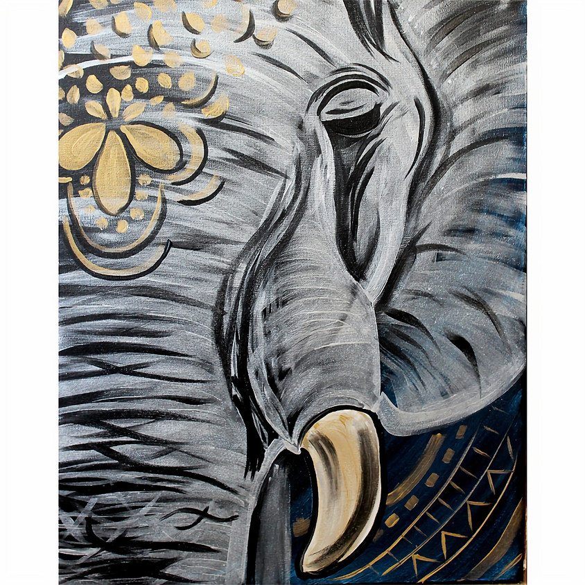 Metalic Elephant