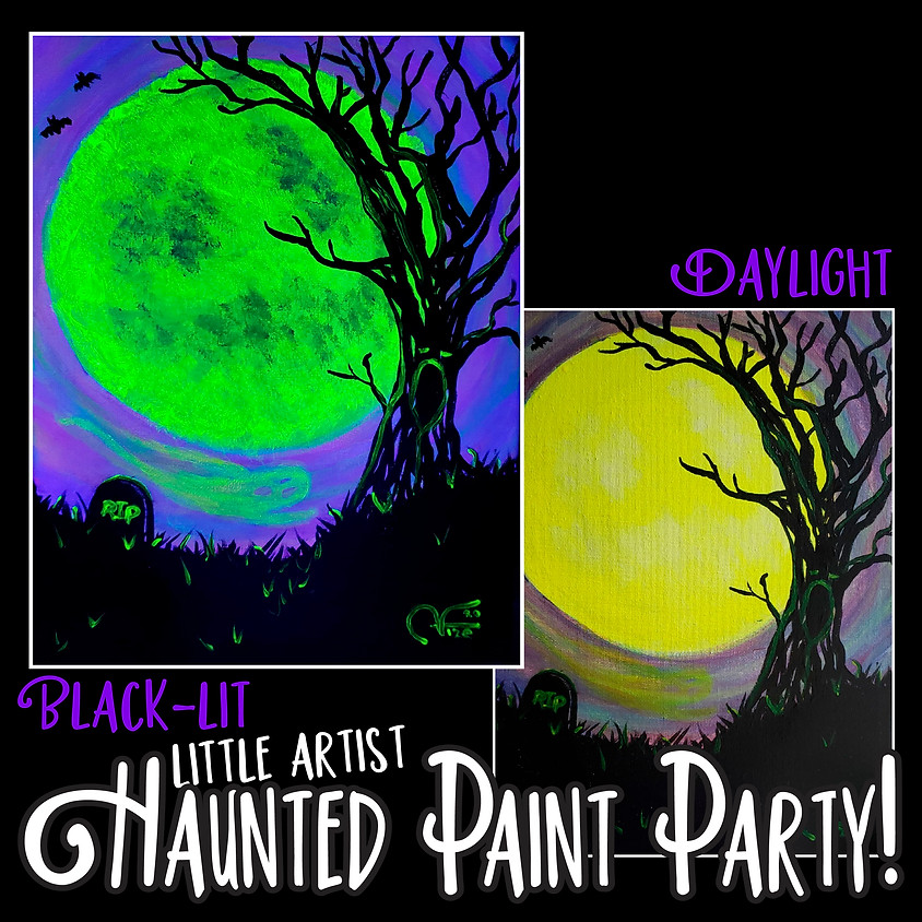 Haunted Spooky Night - Little Artists In-Studio or LIVE