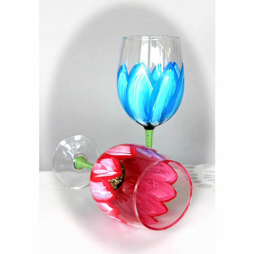Wine Glass Flower