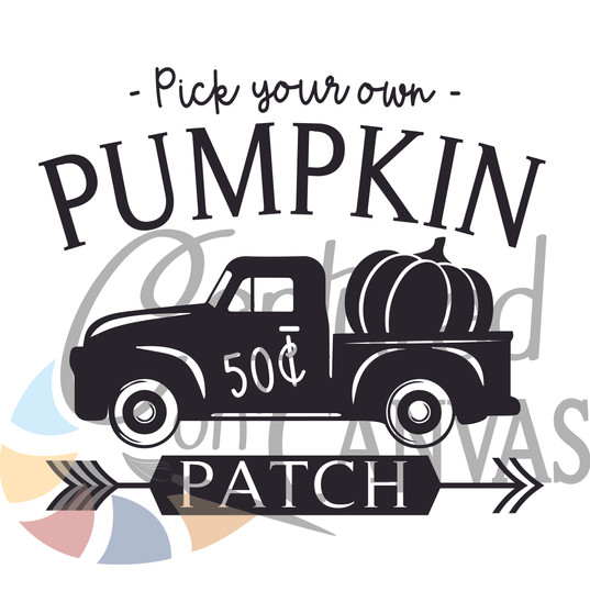 Pick your own Pumpkin Square