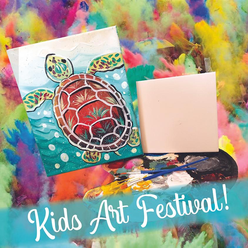 Little Artists Paint Festival!