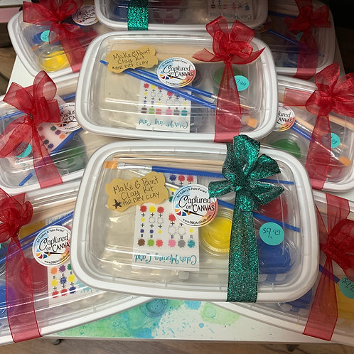 Make & Paint Clay Kit