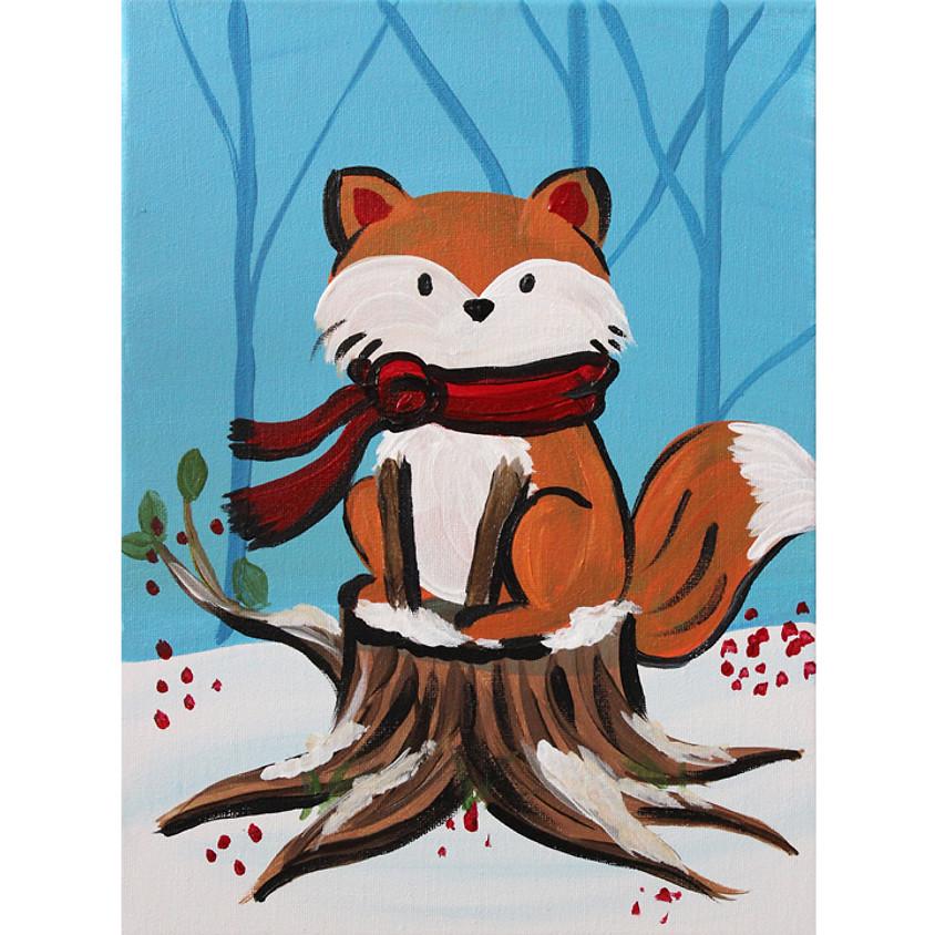 Snow Fox - Little Artists Live or In-Studio