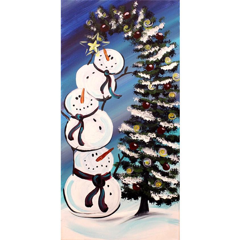 Stacked Snowmen
