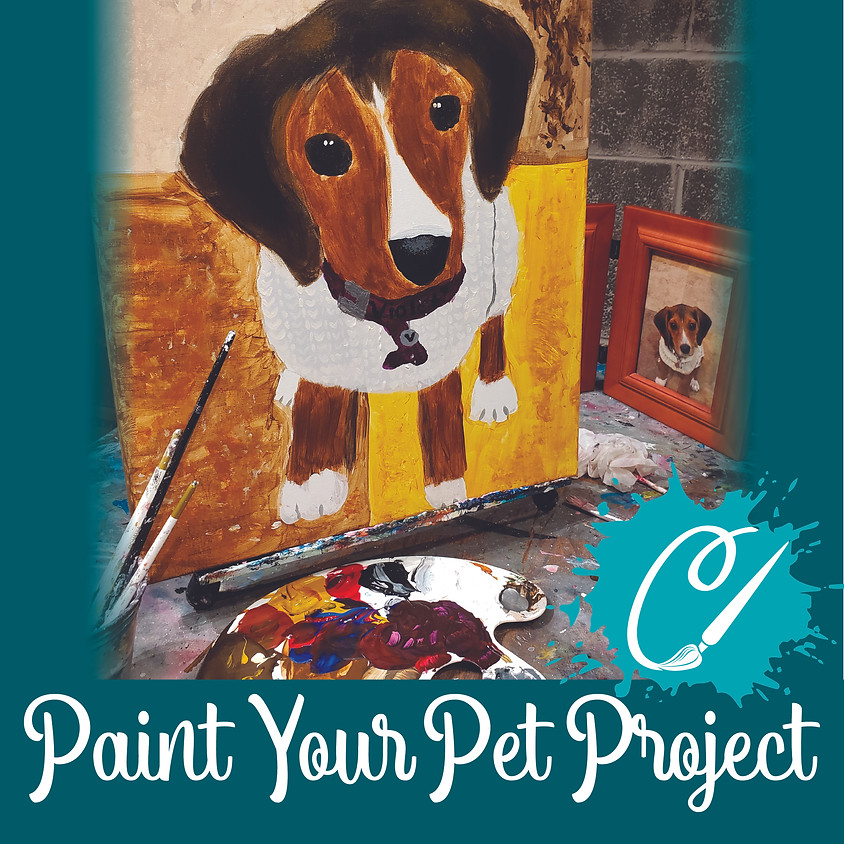 Paint Your Pet Project Little Artists - Live or In-Studio