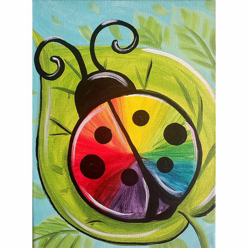 Lady Color Bug- Little Artists Live or In-Studio