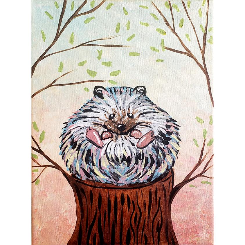 Henry The Hedgehog - Little Artists Live or In-Studio