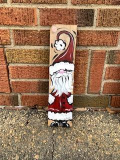 Santa Wood Art