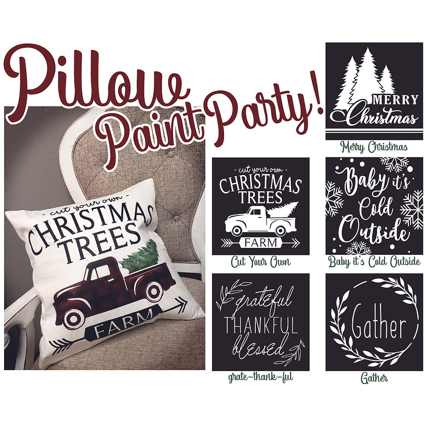 Pillow Party! In-Studio or LIVE
