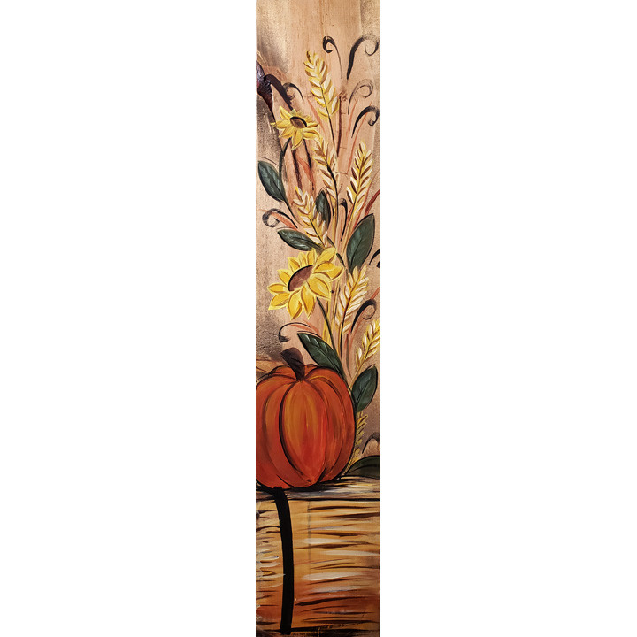 Fall Time Porch Sign - Live or In-Studio