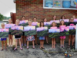 Little Artists Paint Program!