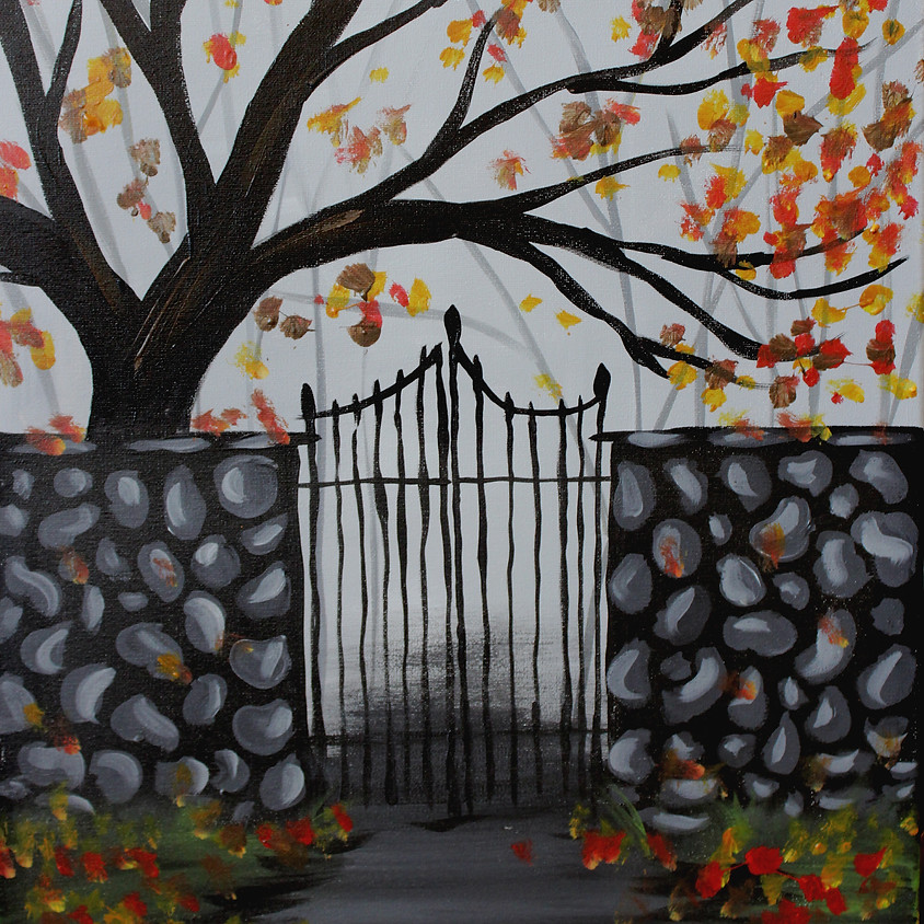Fall Forest Gate