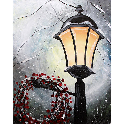 Winter Lantern - AnyTime Paint Party Kit