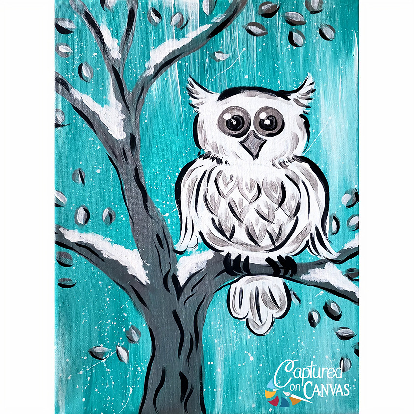 Snow Owl- Little Artists Live or In-Studio