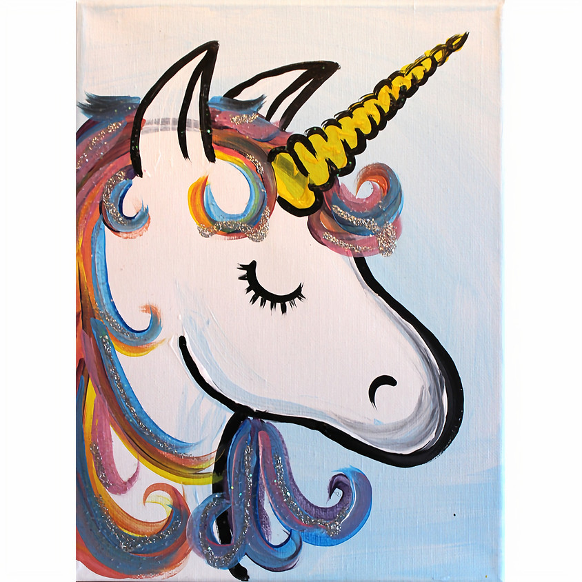 Glitter Unicorn - Little Artists Live