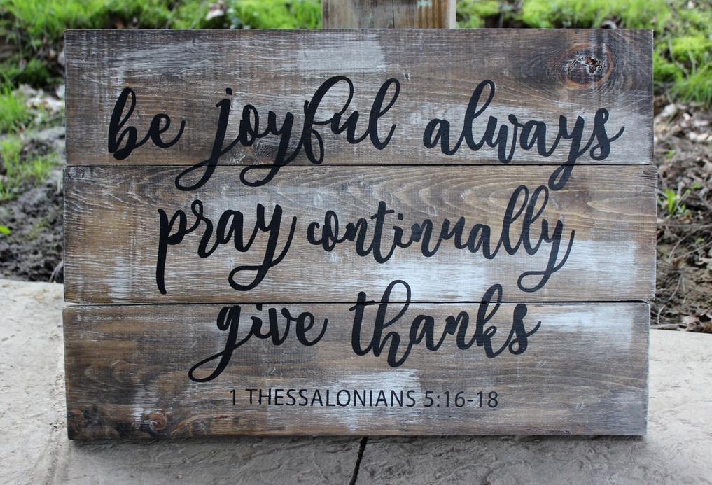 Joyful Always