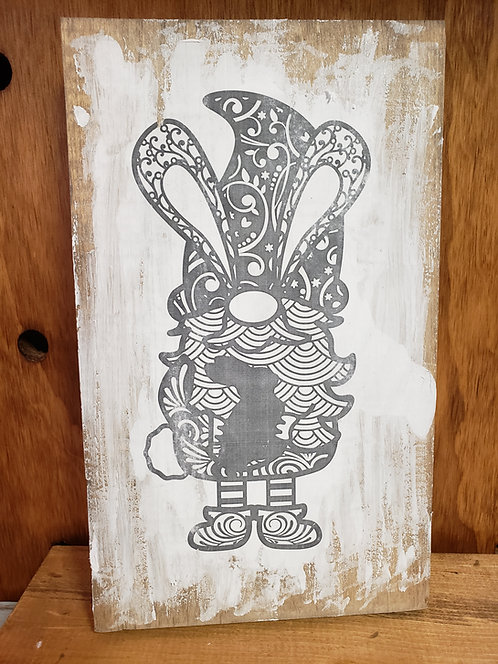 Bunny Gnome Color Decor