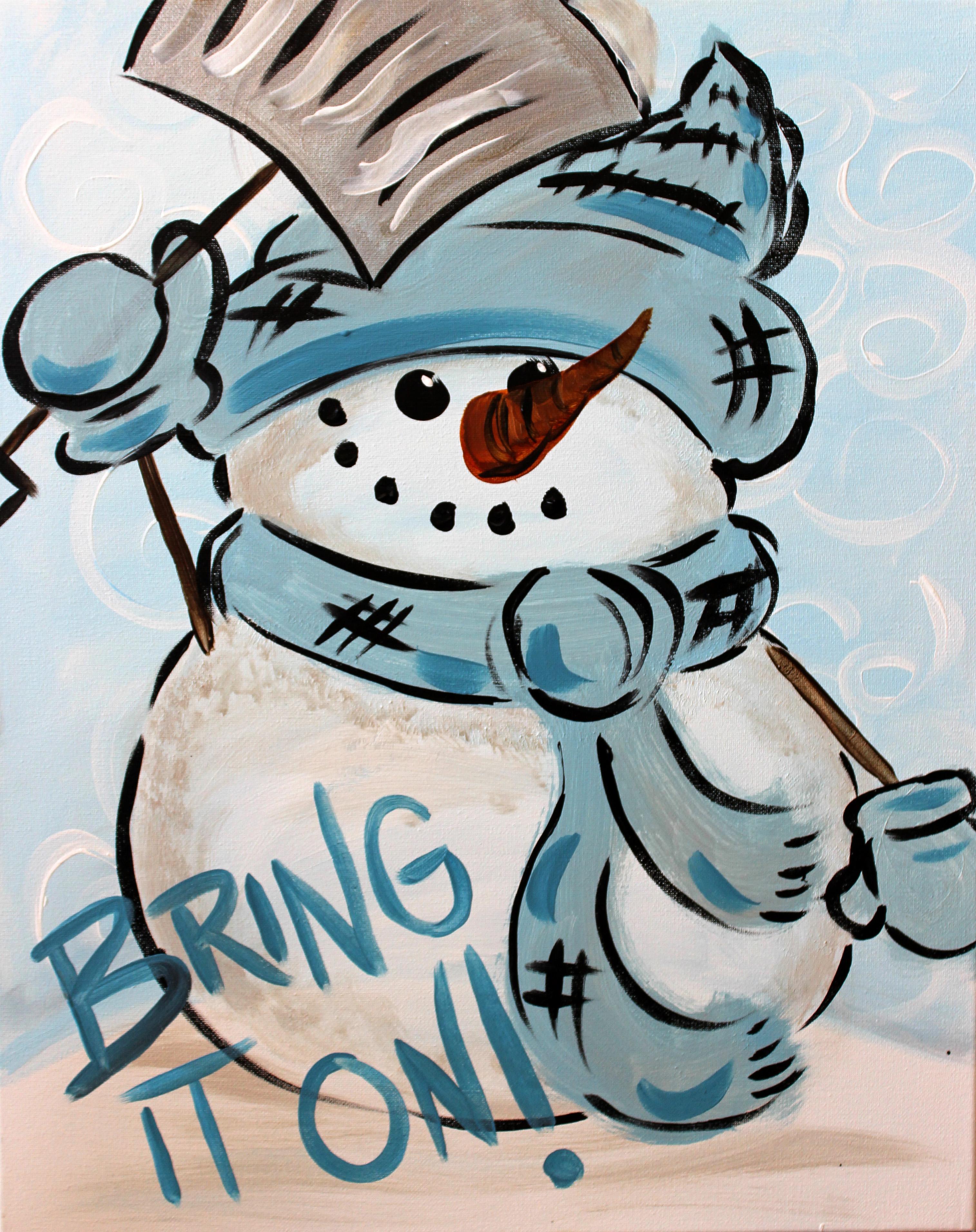 Bring It On Snowman