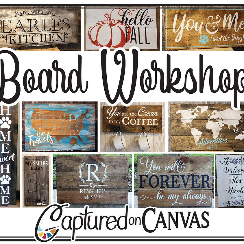 Board Sign Workshop!  (1)