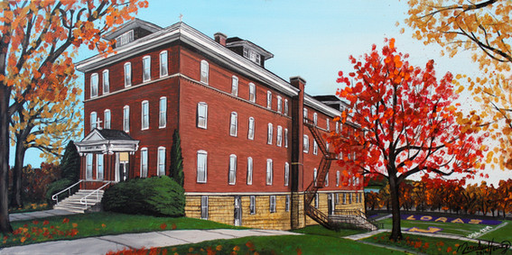 Hennessy Hall at Loras College
