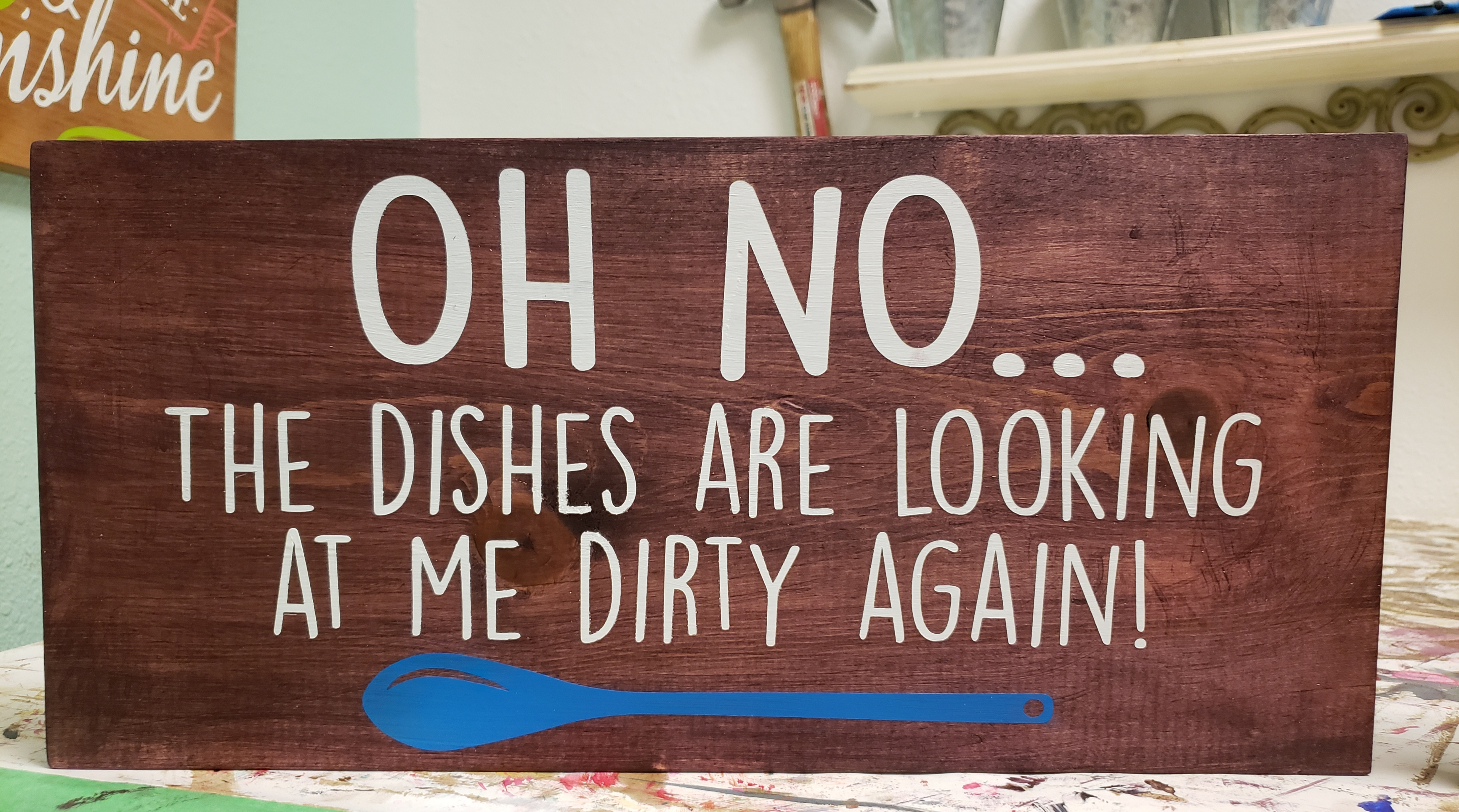 Oh No, the Dishes