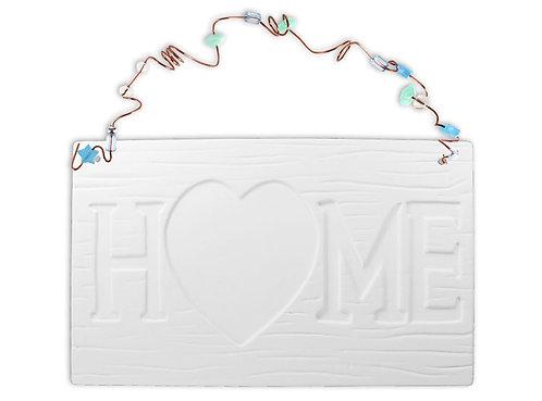 Home Tile Plaque