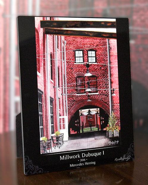 Millwork I - 8x10 Desktop Plaque