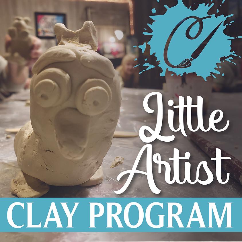 Little Artists Clay Program Live - Thursdays