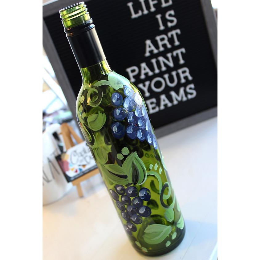 Grape - Wine Bottle
