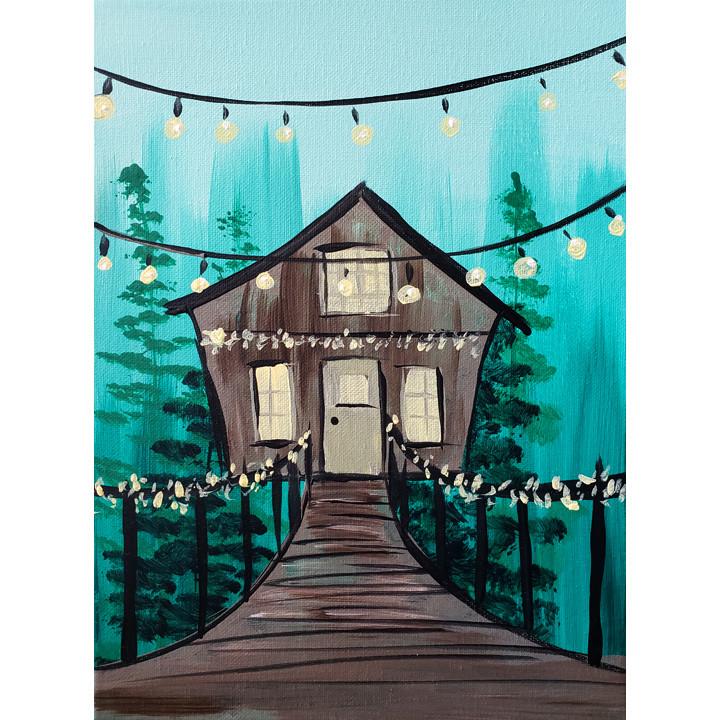 Tree House Get-A-Way - Little Artists
