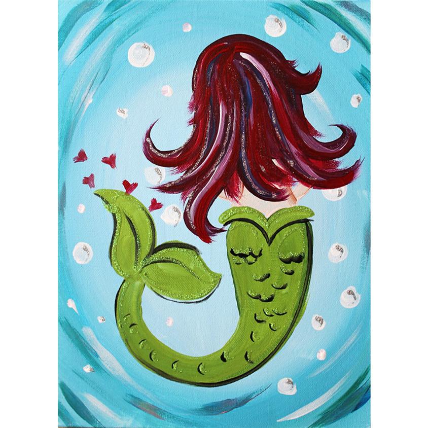 Mermaid - Little Artists Live -or- In-Studio