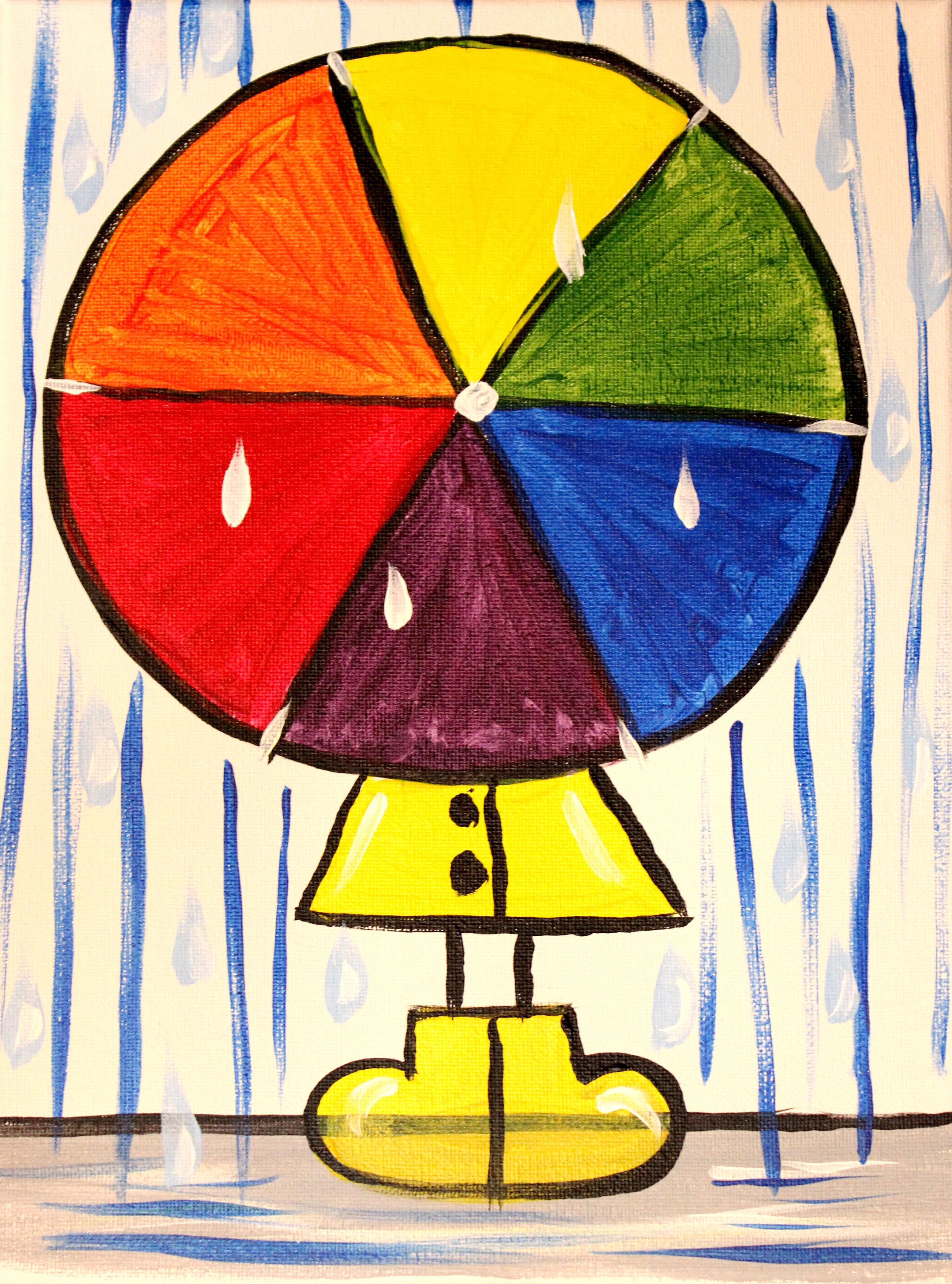 Color Wheel Rain