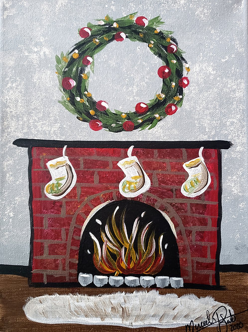 Fireplace - AnyTime Paint Party Kit