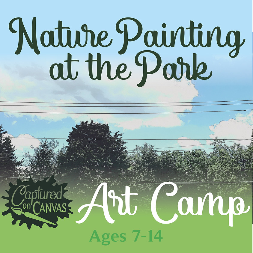 Nature Painting at the Park - ART CAMP