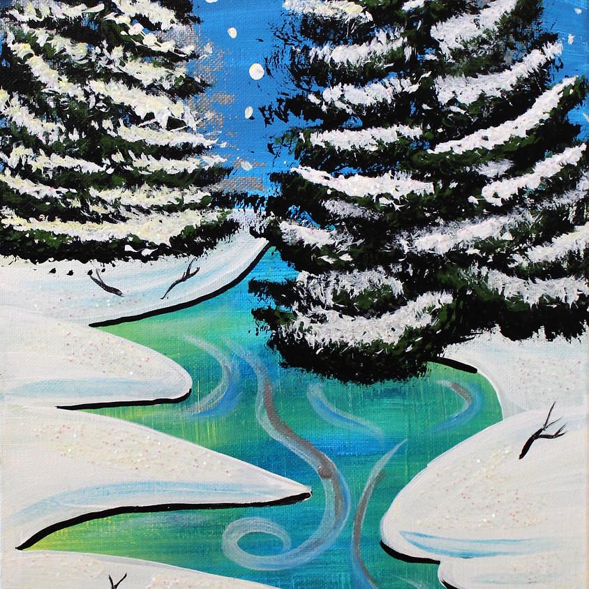 Glitter Winter Wonderland