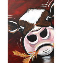 Hay Cow
