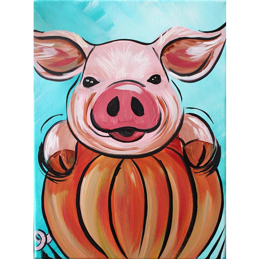 Piggy Pumpkin - Little Artists LIVE or In-Studio