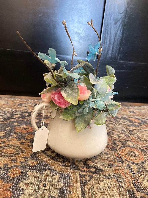 Elegant Floral Pot