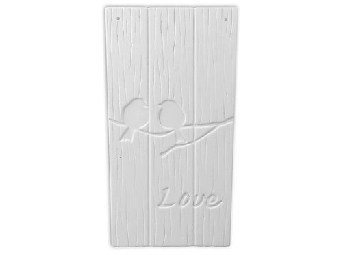 Love Bird Plaque