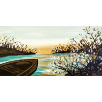 Warm Backwater Canoe