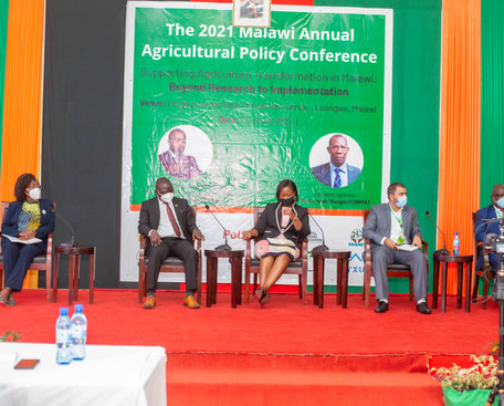 panel discussion on agricultural commerc