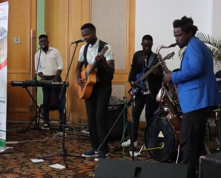Lulu & Mathumela Band performing a MwAPA