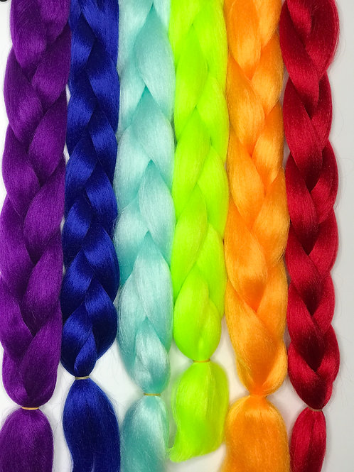 Coloured braid (Light Orange)