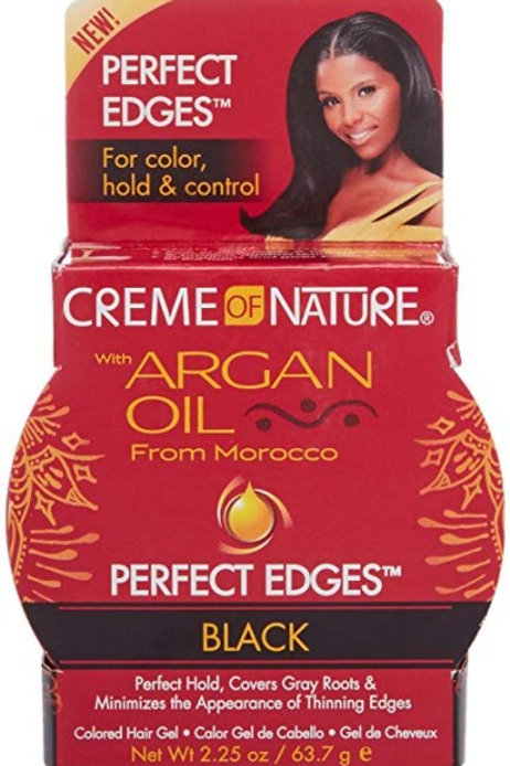 Creme of nture Argan Oil Perfect Edges Black 63.7g