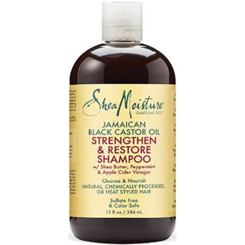 Shea Moisture Jam Black Castor Strength&Restore Shampoo 13oz