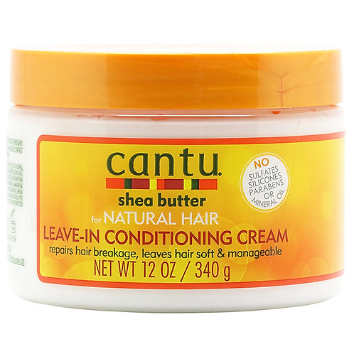 Cantu Shea Butter for Natural Hair Leave-in Conditioning Cream 354ml