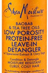 Shea Moisture Low Porosity Protein-Free Leave-In Detangler 236ml